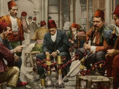 Fumer le Narguile a Istanbul