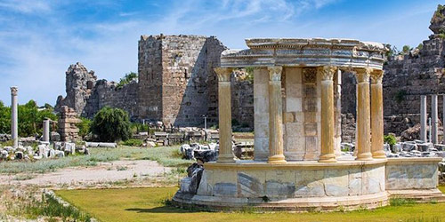 Tour around Perge, Aspendos, Side and its Waterfalls